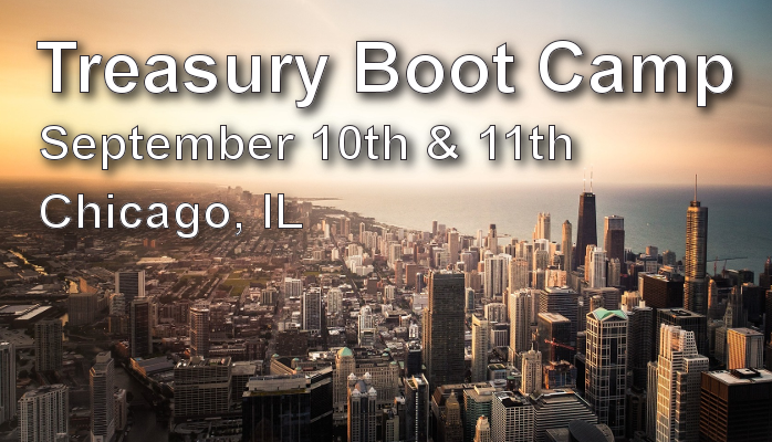 Treasury Boot Camp Event
