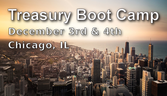 Treasury Boot Camp Chicago
